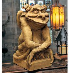 Design Toscano Oscar The Gargoyle with Attitude Statue Size: Medium