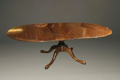 English century style round table with two leaves custom made in walnut. French Farmhouse, Farmhouse Table, Pedistal Table, Elegant Table, Dining Room Table, Leaves, English, Antiques, 18th Century
