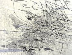 Ce e asta? (Julie Mehretu Untitled (brigade), 2005 Ink and Acrylic on Canvas) Abstract Drawings, Abstract Art, Stage Set, Beautiful Paintings, Contemporary Artists, Painting & Drawing, Photo Art, Cool Art, Art Photography