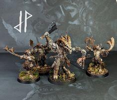 Warhammer Aos, Warhammer Fantasy, Warhammer 40000, Fantasy Figures, My Fantasy World, Fantasy Miniatures, Mini Paintings, Dark Ages, Lotr