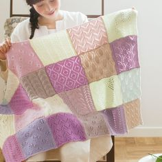 Inspiration - Knitting sampler blanket
