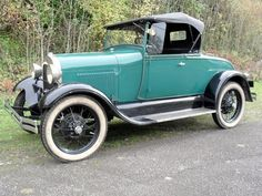 1929 Ford Model A Roadster...brought to you by House of Insurance Eugene, Oregon 97401