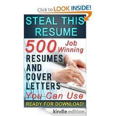 Amazon.com: Steal This Resume eBook: Mark Petterson: Books