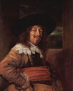 Frans Hals.  Porträt eines Mannes im Brustharnisch. Um 1639, Öl auf Leinwand, 86 × 69cm.Washington (D.C.), National Gallery of Art.Niederlande (Holland).Barock.  KO 00429