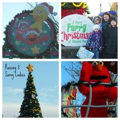 "@Kerri G shares her experience at @Sesame Place's ""A Very Furry Christmas."""