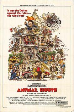 Animal House Movie Poster