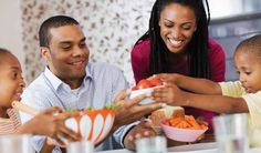 Make your mealtimes family times. Enjoy #healthy food together with these tips. #MyPlate