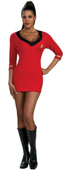 Star+Trek+Secret+Wishes+Red+Dress from BuyCostumes.com
