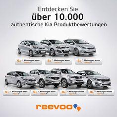 Jetzt mit Kia Reevoo ehrliche & authentische Produktbewertungen einholen. #Kia   http://www.kia.com/at/schauraum/reevoo/