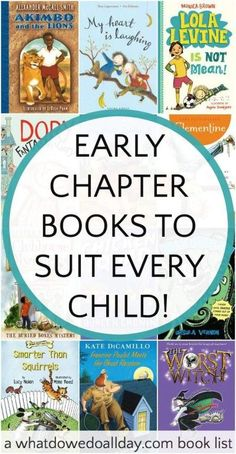 Beginning and early chapter books to give your kids. Great gifts for kids ages 5-9 who love to read.