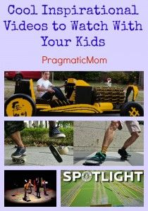 Cool Inspirational STEM Videos to Watch With Your Kids :: PragmaticMom