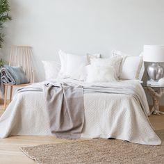 Naturel linnen sprei - Dekbedden - Bed | Zara Home Netherlands