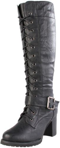 Amazon.com: Wanted Shoes Women's Pillar Knee-High Boot: Shoes