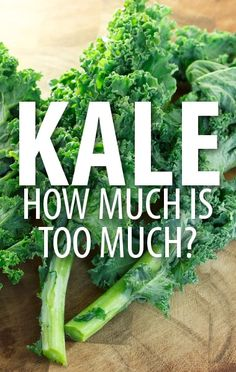 Are you worried that you have too much Kale in your diet? Dr Oz talked about the health risks related to Kidney Stones and Thyroid problems from Goitrin. http://www.recapo.com/dr-oz/dr-oz-diet/dr-oz-much-kale-kale-kidney-stones-goitrin-vs-iodine/