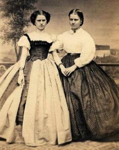 Civil War Era.  Is it just me, or does the one on the left look like Tracey Ullman??