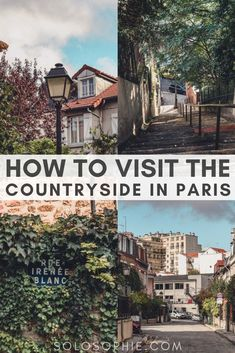 How to visit La Campagne à Paris: The Countryside in the 20th Arrondissement, a hidden gem of Paris, France