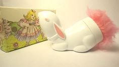 Vintage Avon Bunny Powder Puff--I had this when I was a little girl!