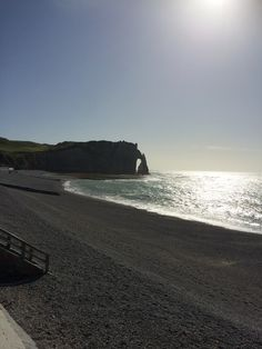 Etretat Normandie, Beach, Water, Outdoor, Gripe Water, Outdoors, The Beach, Beaches, Outdoor Games