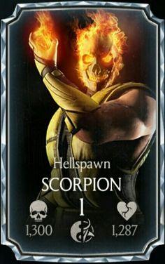 Scorpion Hellspawn card