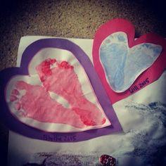 Footprint Valentine's
