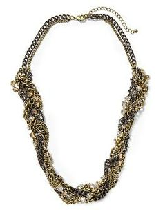 Hive & Honey Chain Torsade Necklace | Piperlime