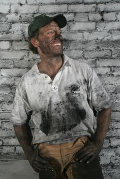 Mike Rowe smiles his way through every mess!
