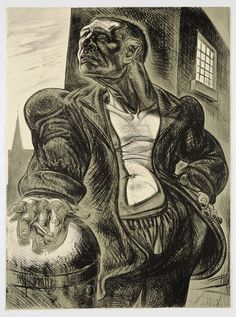 Peter Howson - The Noble Dosser, Lithograph Peter Howson, Art, Art Background, Kunst, Performing Arts, Art Education Resources, Artworks