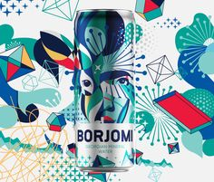 Georgian mineral water brand Borjomi likes taking on new challenges, applying fresh approaches and daring solutions in its ongoing efforts to evolve as a brand and reinvent its package design and advertising campaigns. Water Packaging, Water Branding, Beverage Packaging, Brand Packaging, Design Agency, Branding Design, Mineral Water Brands, Limited Edition Packaging, Traditional Taste