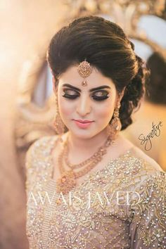 Bride Hairstyles Inspiration Hairstyles  Wedding  Pinterest  Hair Style Wedding And Indian Bridal