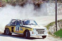 #Renault #Renault5Turbo #Car #Racecar #Rallycar #Rally #WRC #Rallying #Speed…