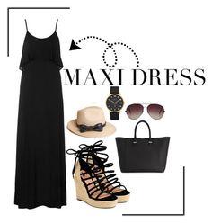 """""""Maxi Dress"""" by jenniferfls on Polyvore"""