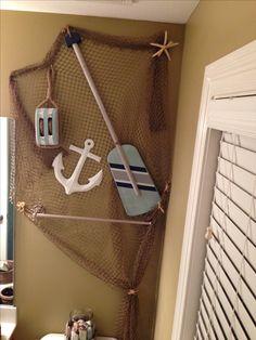 Beginning of my pirate and mermaid kids' bathroom :)