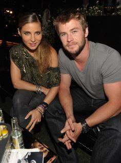 Elsa & Chris Hemsworth