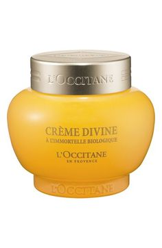 L'Occitane 'Immortelle Divine' Cream available at #Nordstrom Soft,  hydrated, youthful skin is in.
