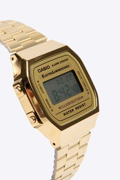 Casio Gold Classic Digital Watch at Urban Outfitters http://neonwatch.tumblr.com/post/101744918811