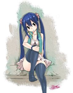 Wendy Marvell - Fairy Tail ~ DarksideAnime