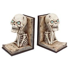 Design Toscano Pondering Literary Skeleton Bookends >>> See this great product. (This is an affiliate link) #DecorativeAccessories