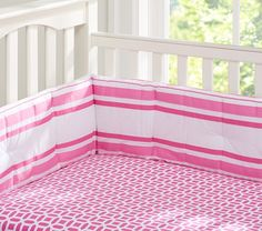 Preppy Geo Crib Sheeting | Pottery Barn Kids