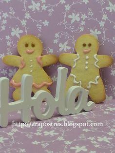Galletas muñecos #arapostres #galletasmantequilla