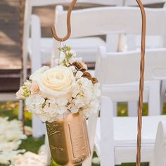Love the bronzed Shepard crooks @rustic.rentals have for hire. Such a great way to decorate your outdoor wedding. ------ ---- --- #weddingdecor #weddingdecorforhire #bride to be #uniquevenue #outdoorwedding