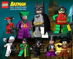 Batman lego characters
