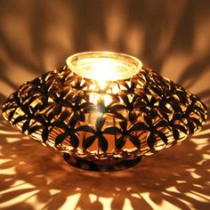 Flower Disk T-light Holder Rs 1199/- http://www.tajonline.com/gifts-to-india/gifts-HVI02.html?aff=pint2014/