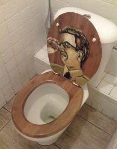 toilet seat - funny:)
