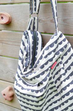 Mädchenkram: Genäht: Eine neue Sommertasche für Frau Kram
