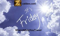 Have a Lighter Day, Have a Brighter Evening, Have a Blessed Night. Happy Friday! ❤️ Download ZALDEE app.  Zaldee® - earn while you travel®, is the coolest way to earn money from excess baggage space available with you while traveling anywhere.  ✈️ #ZALDEE #EarnWhileYouTravel #ShipOnDemand #package #luggage #baggage #journey #courier #ExcessBaggage #shipping #travel #traveling #sharing #BudgetTravel #FreeMoney #vacation #backpacking #CheapTravel #SharingEconomy #likeforfollow #OnDemand…
