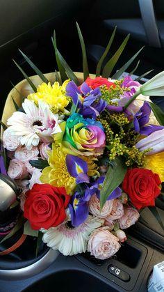 Μπουκέτα Λουλούδια