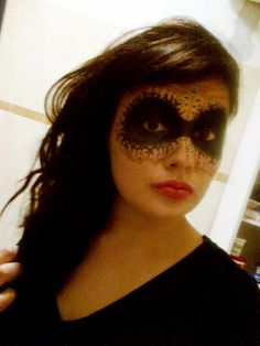 Elegant mask makeup ;)