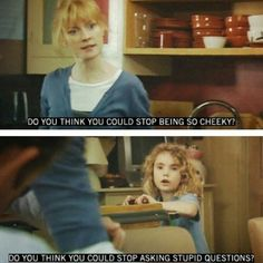 """When Karen was the ultimate smart-arse: 