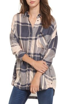 Check out the Free People Oversized Plaid Tunic from Nordstrom: http://shop.nordstrom.com/S/4620537