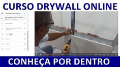 Curso Parede de Drywall On Line